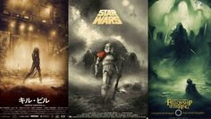 Movie Poster Illustrations by Karl Fitzgerald
