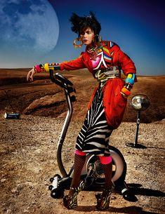 Mario Testino (High Plains Drifter - Vogue UK May 2012)