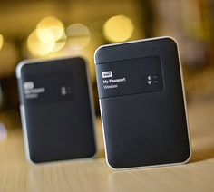 Wirelessly store files with this Western Digital WD Passport Wireless Wi-Fi Mobile Storage external hard drive that features wireless-N connectivity with M