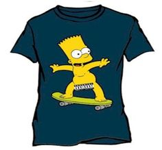 The Simpsons, Bart Simpson, Fictional Characters, Painted Clothes, Fantasy Characters