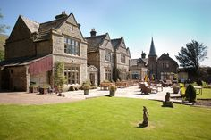 Simonstone Hall, Hawes, North Yorkshire, Yorkshire Dales National Park. Pet Friendly Hotel Holiday Accommodation in England. Accepts Dogs & Small Pets #WeAcceptPets