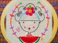 bordados mexicanos patrones - Buscar con Google Embroidery Hoop Art, Cross Stitch Embroidery, Embroidery Patterns, Diy Broderie, Sewing For Beginners, Embroidery Techniques, Blackwork, Sewing Crafts, Needlework