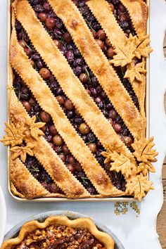 Grape Slab Pie #slabpie #thanksgivingdessert