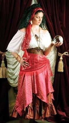 Image result for diy fortune teller costume