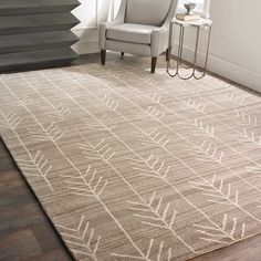 Check out Hand Tufted Arrow Rug from Shades of Light