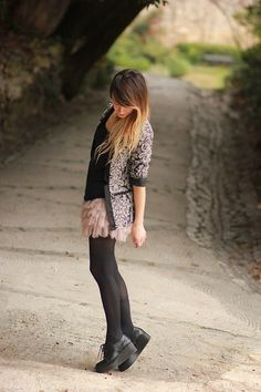 Promod  Jacket, Topshop Skirt, Élite  Shoes