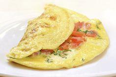 L'Omelette ai pomodori secchi con la ricetta spiegata passo passo su Blogo
