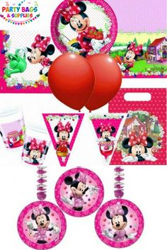 Throw a fabulous party for your Minnie Mouse Bow-tique fan with our gorgeous range of Official Disney party supplies. Discount party packs, party pags, filled party bags, Minnie Mouse party bag fillers, toys and gifts for birthday presents or party prizes. See Minnie Mouse Polka Dot (Minnie & Daisies) Minnie Pink (Hearts) and the new Minnie Jam Packed party range.  Click here to see the full Minnie range - https://www.partybagsandsupplies.co.uk/themes/minnie-bow-tique