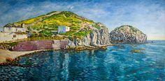 Mar en calma con Islotes