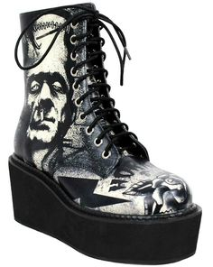 •P£rf£cT MaTcH•Frankenstein's monster boots by Too Fast Clothing