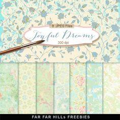 New Freebies Kit of Backgrounds - Joyful Dreams