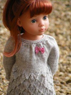 Poppy dress variation from My Doll Best Friend Photo Pam Elliott