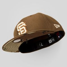 Upper Playground - SF Giants New Era Fitted Cap in Brown/Desert Camo