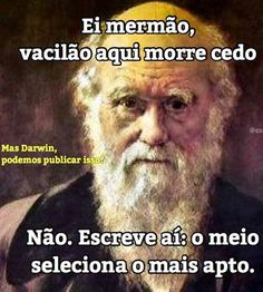 Darwin mandou a letra