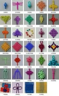 Chinese Knot Macrame Rattail Beading Cord Thread Wire … - Gardening - Home Decor - Wedding - Women's Fashion - Diy and Crafts Macrame Knots, Micro Macrame, Rope Knots, Macrame Art, Macrame Jewelry, Types Of Knots, Sewing Projects, Craft Projects, Craft Ideas