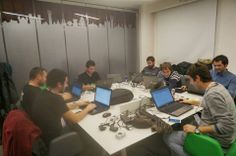 urban station, maslak, aslanoba capital, gdg istanbul, mobile, hackathon, event, working people, project