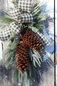 Winter Door Decorating Ideas - Sweet Something Designs