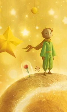 The Little Prince wallpaper featuring the little prince, the fox, the rose and the asteroid. Available for tablets and widescreen backgrounds and lockscreens. The Little Prince Movie, Little Prince Quotes, Le Petit Prince Film, Nature Posters, Book Illustration, Cute Wallpapers, Art Reference, Iphone Wallpaper, Wallpaper Quotes