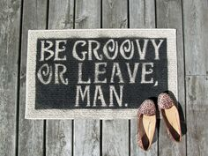 October June: DIY Welcome Mat