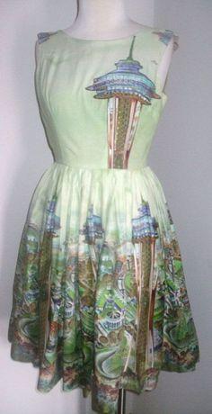1962 Seattle Washington World's Fair Dress