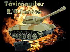 Távirányítós tank. Világít és hangot ad ki! Kitűnő ajándék!