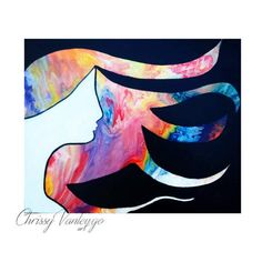 fluid painting poured paint art Abstract Painting Teen room