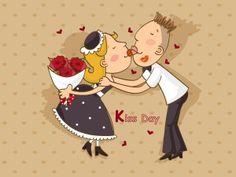 Kiss Day #kissday #valentinedayweeklist #valentineday