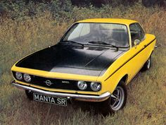 1973 Opel Manta SR. I don't know much about Opels...are they reliable? That's a big part of being a daily driver.