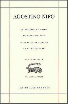 Du Beau et de l'Amour / De Pulchro et Amore. Livre I