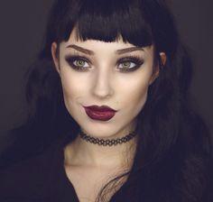 Gothic Make Up  #Inspiring
