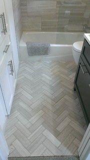 "Bathroom - 12"" x 24"" Valentino Gray Marble Walls / Floor - modern - bathroom - austin - by Custom Surface Solutions"