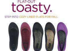 Crocs Flats for Fall Sale
