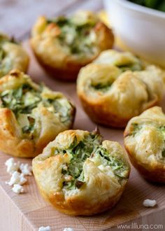 The BEST Spinach Puffs