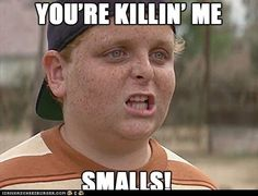 You're killin' me smalls, the sandlot, film, Funny Movies, Great Movies, Netflix Funny, 90s Movies, Watch Movies, Tv Quotes, Great Quotes, Qoutes, Yearbook Quotes