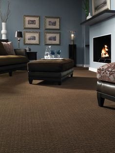 brown carpet bedroom | 12 Ways to Incorporate Carpet in a Room's Design : Home Improvement ...