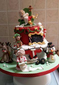 Theresa Falzon christmas cake ❤