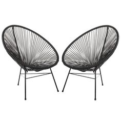 Based on time-honored Mayan hammock weaving technology this Acapulco Papasan Chair unifies tradition with innovation and harmonizes the function of ergonomic comfort with retro-modern aesthetic form. Deck Chairs, Eames Chairs, Garden Chairs, Cool Chairs, Outdoor Chairs, Lounge Chairs, Outdoor Furniture, Bar Chairs, Backyard Furniture