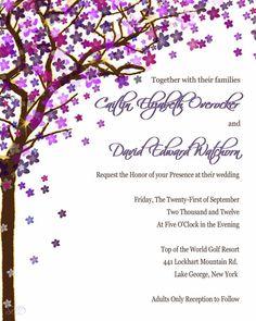 Rustic Wedding Invitations Birch Tree wedding by TheWeddingPost, $1.00