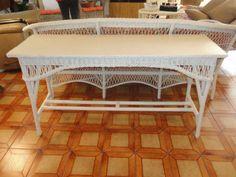 RARE-20s-ATTRIB-BAR-HARBOR-WICKER-SOLID-TOP-TABLE-SIDEBOARD