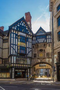 Liberty & Co. Store on Regent Street, London, England | by MomentaryShutter