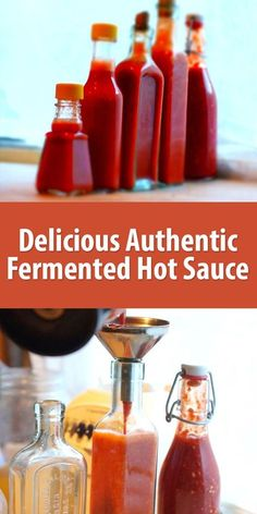 Making Delicious Authentic Fermented Hot Sauce The great hot sauces of the world are fermented, not just preserved with vinegar. The unique flavors develop from bacterial and yeast activity during lacto-fermentation. Sauce Salsa, Salsa Picante, Chutney, Fermentation Recipes, Canning Recipes, Canning Tips, Hot Sauce Recipes, Fermented Hot Sauce Recipe, Chilis