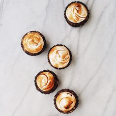 s'mores cupcakes | T