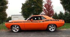 805hp Orange 1970 Plymouth HEMI Cuda Masterpiece