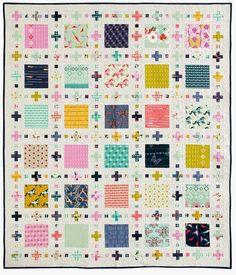 Squares Plus - featured in McCalls Quick Quilts Feb/Mar 2015