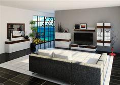 interior render: living room