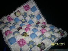 "Детское одеяло в технике ""Bubble Quilt"". Мастер-класс | Домохозяйка"