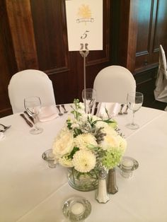 Centrepiece- Amelia and Mike (August 2014)