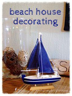 Beach house decorating - madebyjoey
