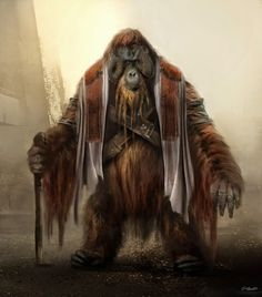 Concept art from Dawn of the Planet of the Apes