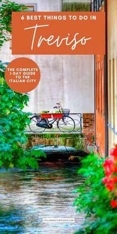 Things To Do In Treviso Italy. Plan your trip to Treviso with this complete 1-day itinerary. Expect plenty of pretty canal spots, cicchetti, prosecco, historic landmarks, and even more prosecco in the Italian city they call the 'mini Venice.' | Treviso | Italy | Italia | Italy Trip | Italy Travel | Cities In Italy | Towns In Italy | Europe Travel European Travel Tips, Italy Travel Tips, Europe Travel Guide, Travel Abroad, Travel Guides, Travel Destinations, Italy Trip, Italy Vacation, Treviso Italy